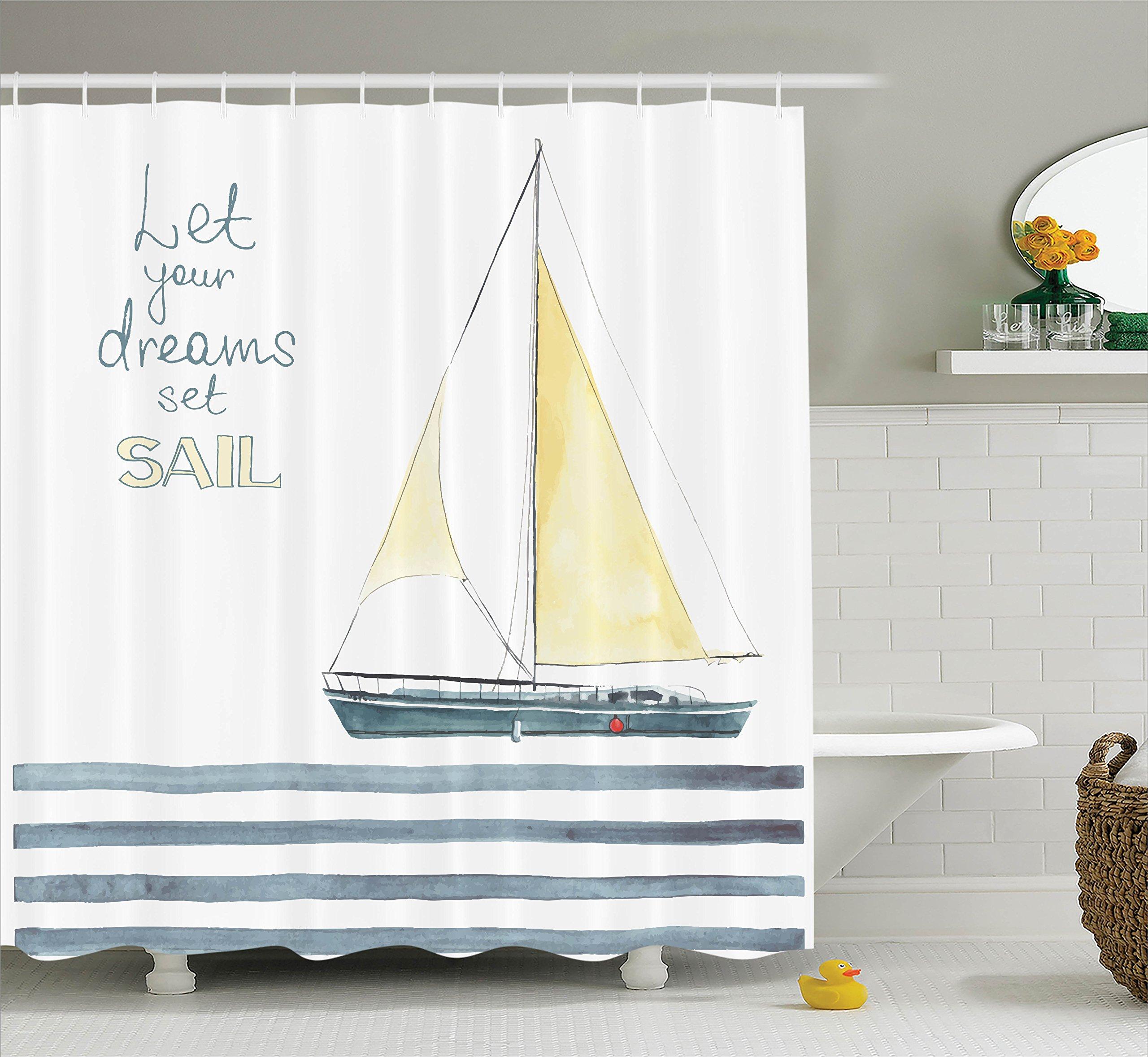Nautical Bath Art: Amazon.com