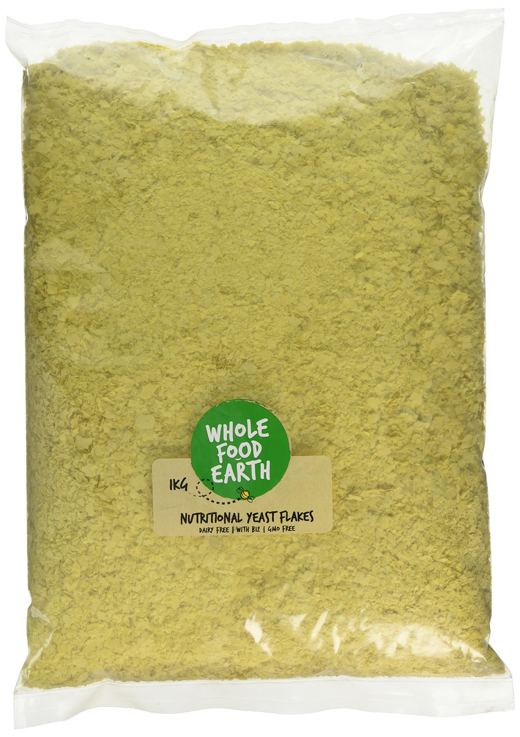 Wholefood Earth Nutritional Yeast Flakes, 1 kg