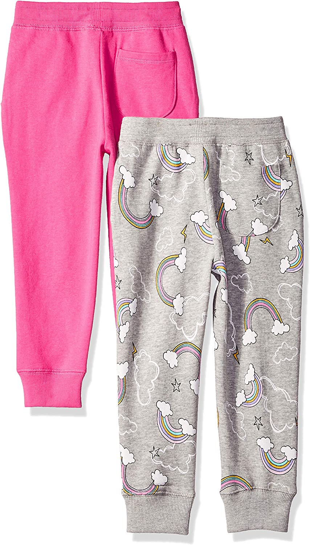 Brand Spotted Zebra Girls Fleece Jogger Sweatpants