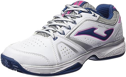JOMA T.Master 1000 Lady 602 Blanco-Marino Zapatillas de Tenis, Mujer,