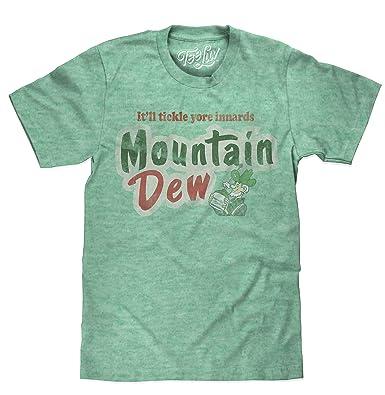 c744e9ae Amazon.com: Tee Luv Mountain Dew T-Shirt - Big and Tall Mt Dew Shirt ...