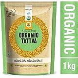 Organic Tattva Moong Dal Yellow Split, 1kg