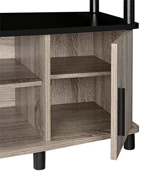 Amazon.com: Ameriwood Home Carson TV Stand For 50 Inch TVs (Sonoma Oak):  Kitchen U0026 Dining