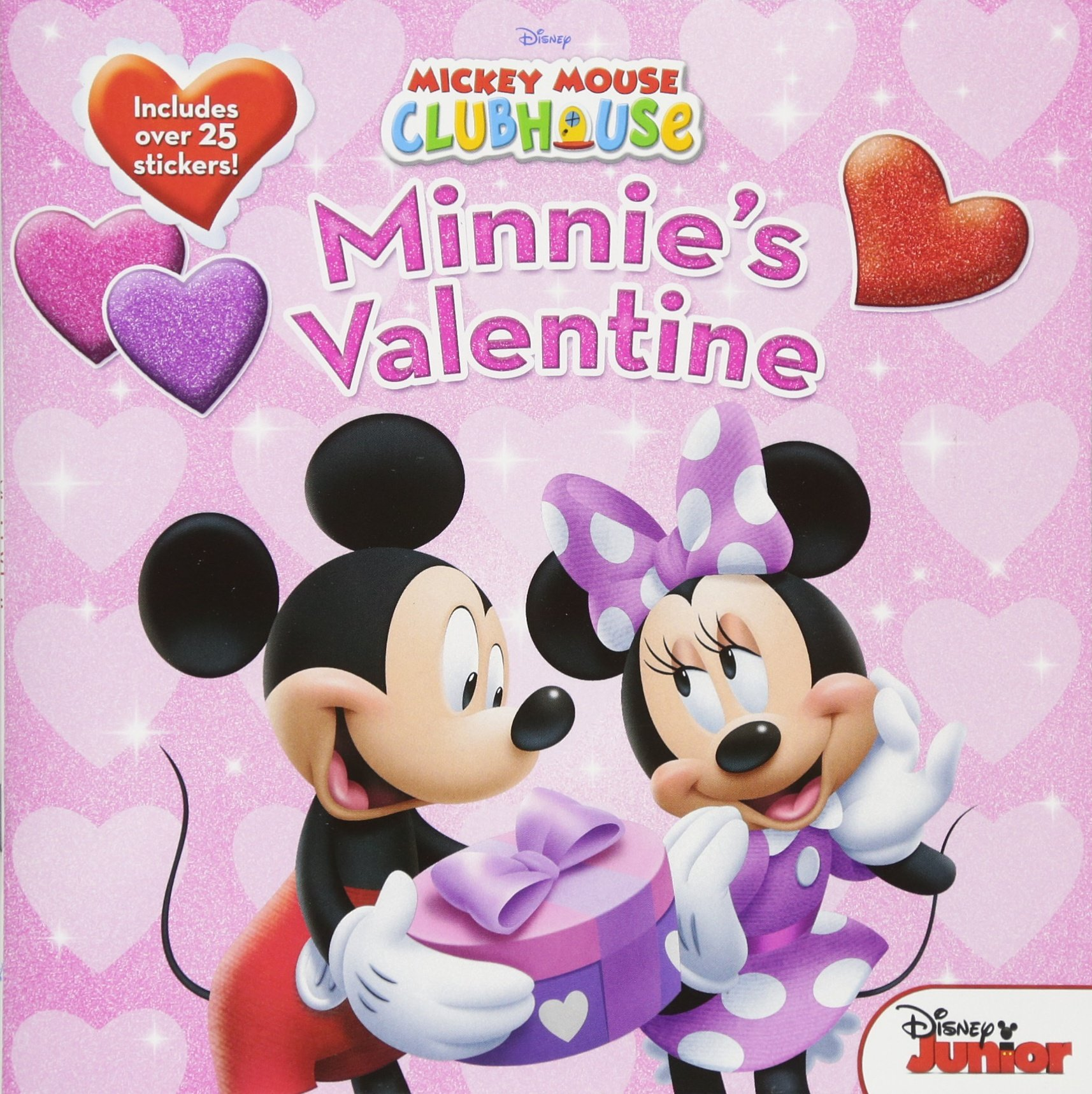 Mickey Mouse Clubhouse Minnies Valentine Disney Book Group Sheila