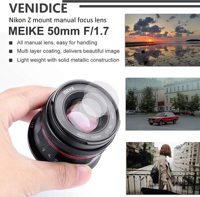 fr Nikon Z Mount Z6 Z7 spiegellose Kameras mit Vollrahmen und ...