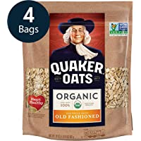 4-Pack Quaker Old Fashioned Rolled Oats, 24oz