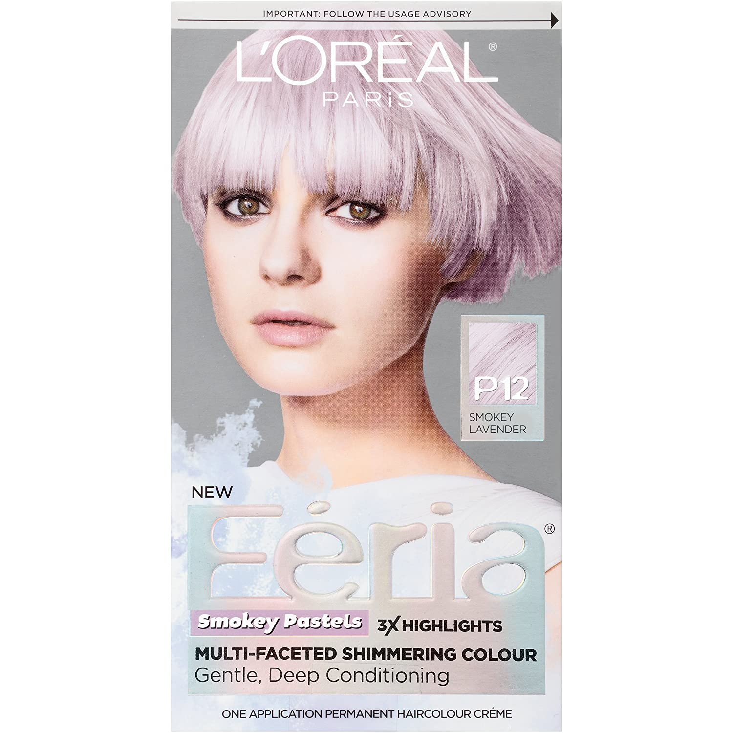 Amazon Loral Paris Feria Pastels Hair Color P12 Lavender