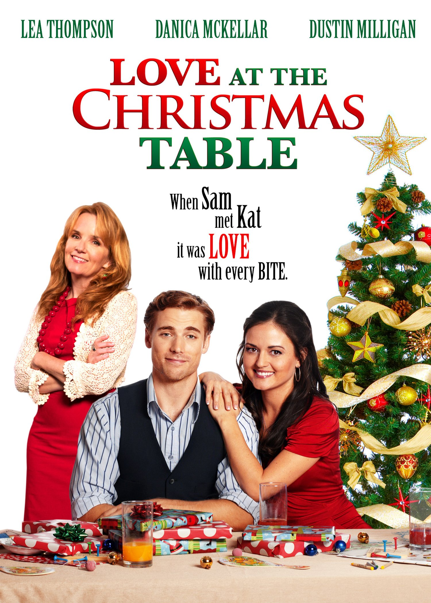 DVD : Love At The Christmas Table (Widescreen)