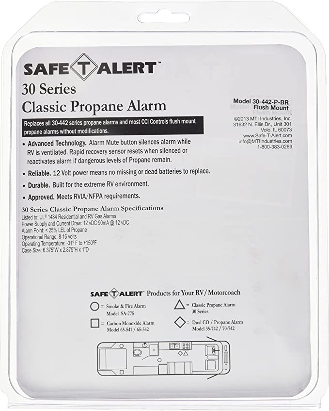 show original title Details about  /Trio Gas alarm LPG Gas Sensor Numbing for camper caravan RNR