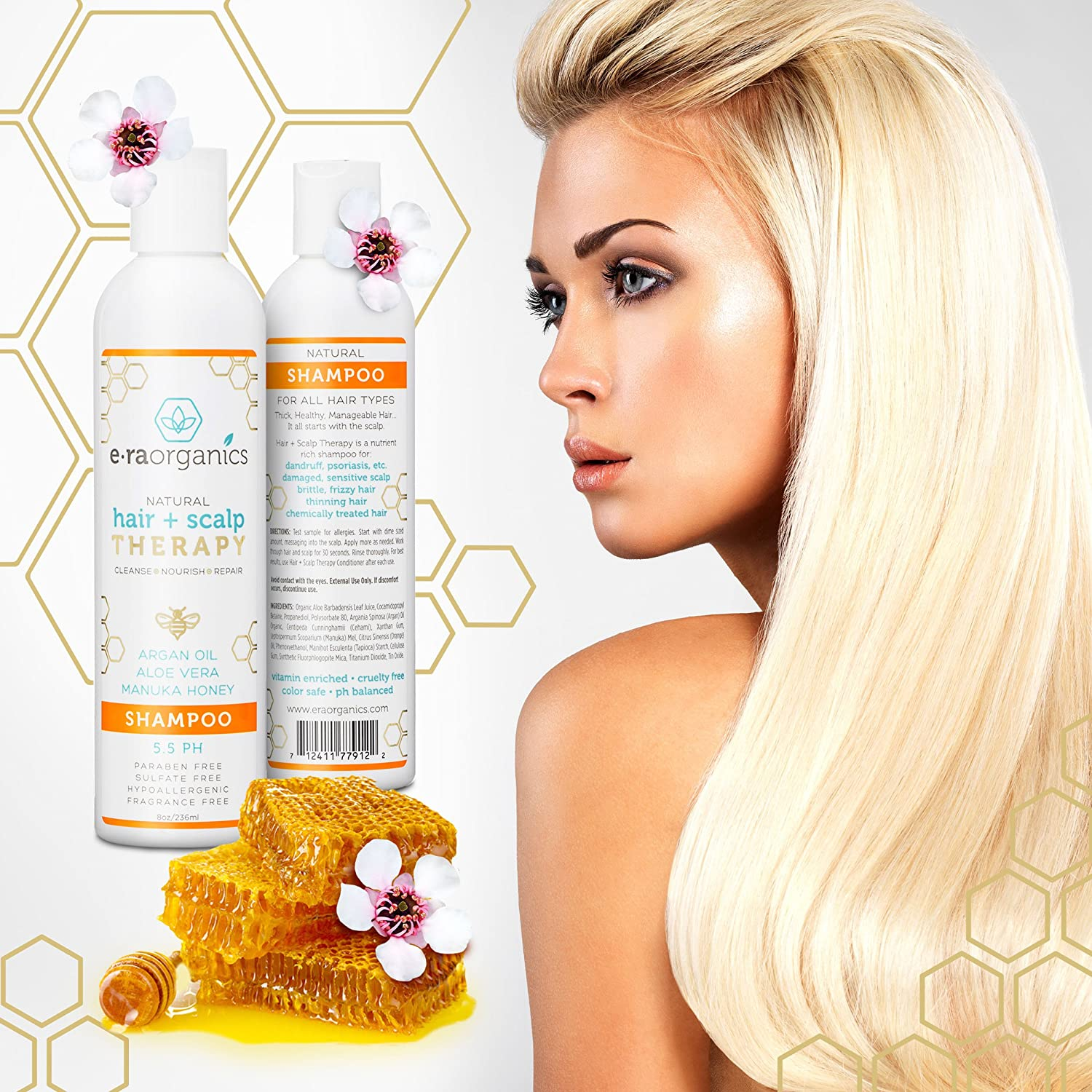 Amazon Sulfate Free Argan Oil Shampoo And Conditioner Set For