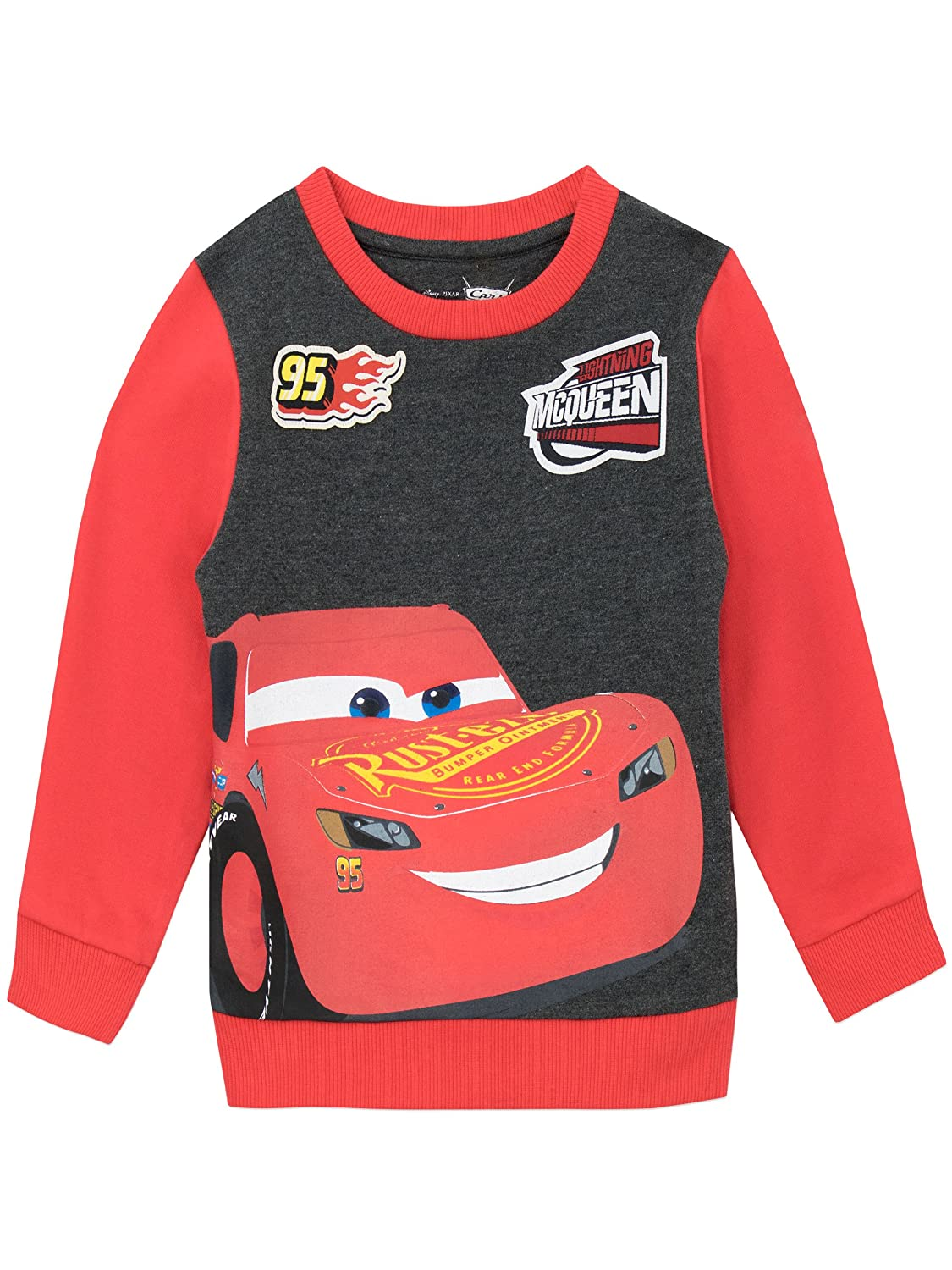 Disney Cars Boys Cars Sweatshirt Ages 18 Months To 8 Years