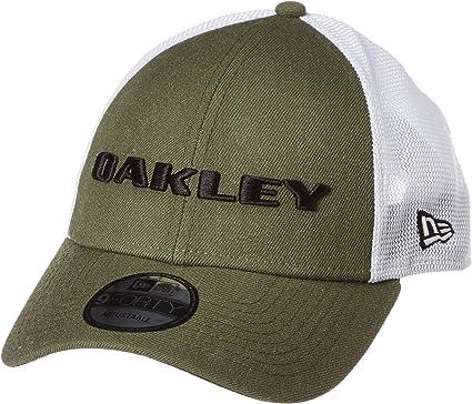 Oakley Heather New Era Hat Gorras, Dunkler Pinsel, Einheitsgröße ...