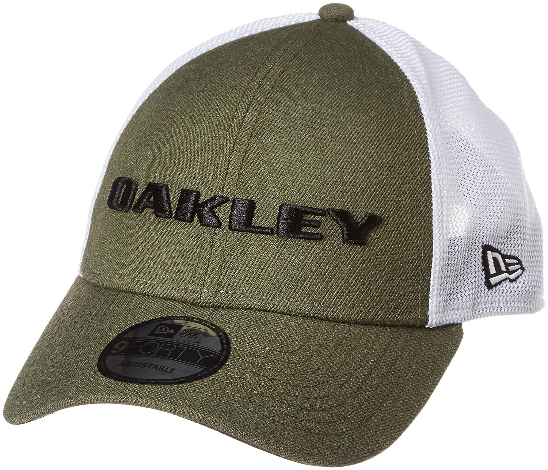 Oakley Gorra Snapback De Visera Curva New Era Heather Ozone (Default, Azul): Amazon.es: Ropa y accesorios