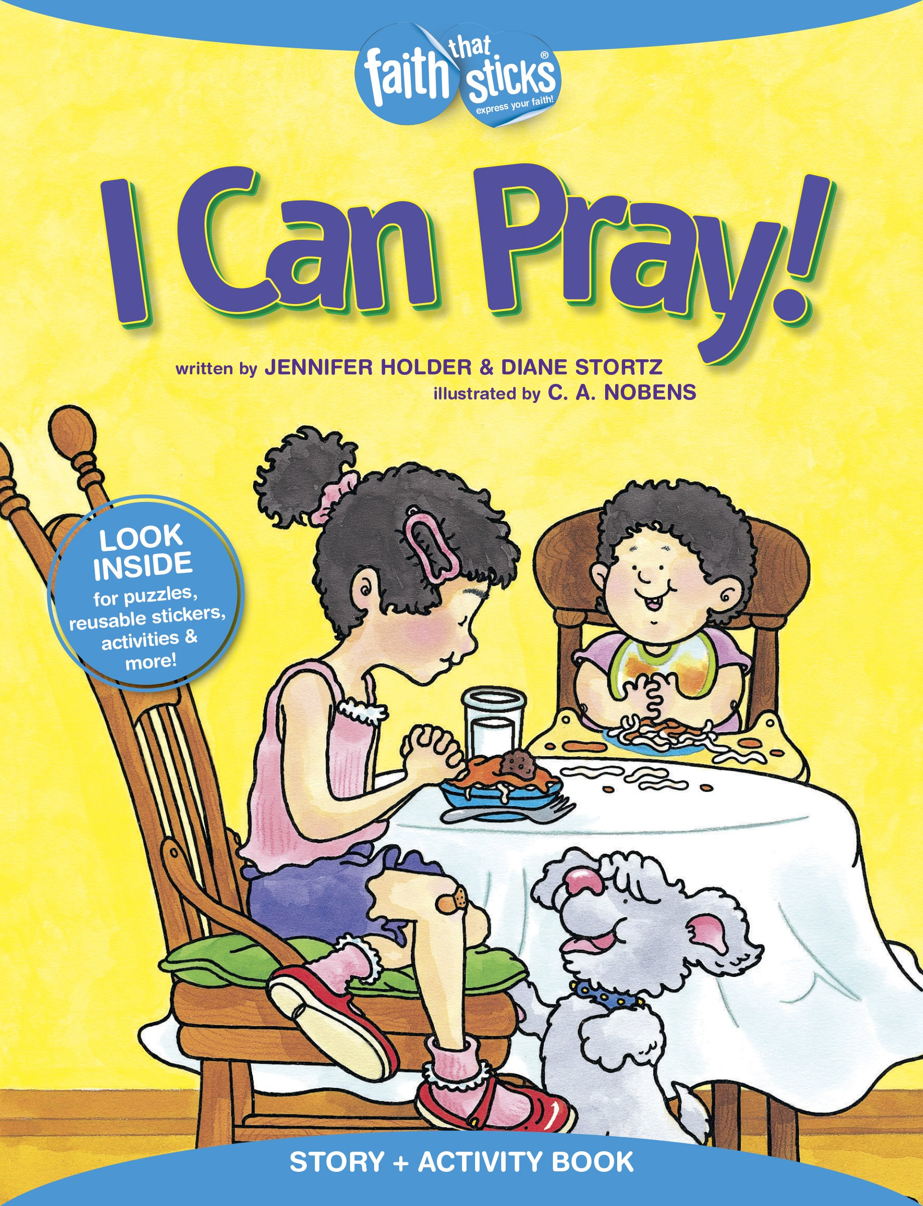 Download I Can Pray! Story + Activity Book (Faith That Sticks Books) PDF