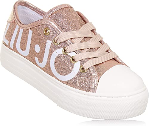 Liu Jo Sneakers Oro Rosa L3A420253 (39 EU): Amazon.it