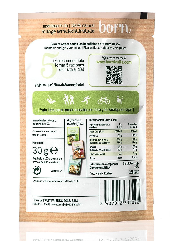 Born, Mango deshidratado - 24 de 30 gr. (Total: 720 gr.): Amazon.es: Alimentación y bebidas