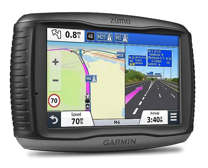 """83 opinioni per Garmin zūmo 590LM Navigatore Moto Impermeabile IPX7 con Schermo da 5"""", Mappa"""