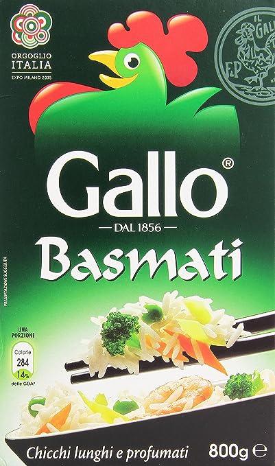 4 opinioni per Gallo- Riso Basmati, Chicci Lunghi e Profumati- 3 confezioni da 800 g [2400 g]
