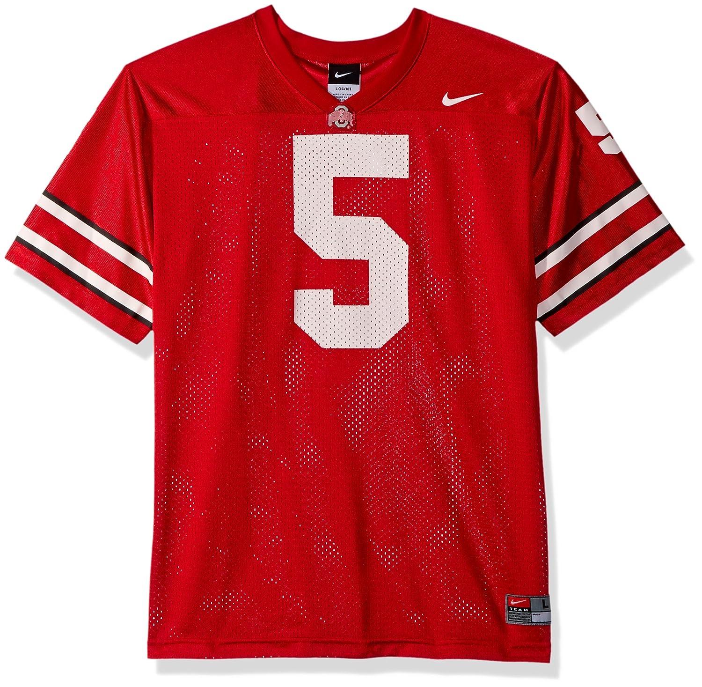 new concept f5d70 51896 Amazon.com : Ohio State Buckeyes Home #5 Football Jersey ...