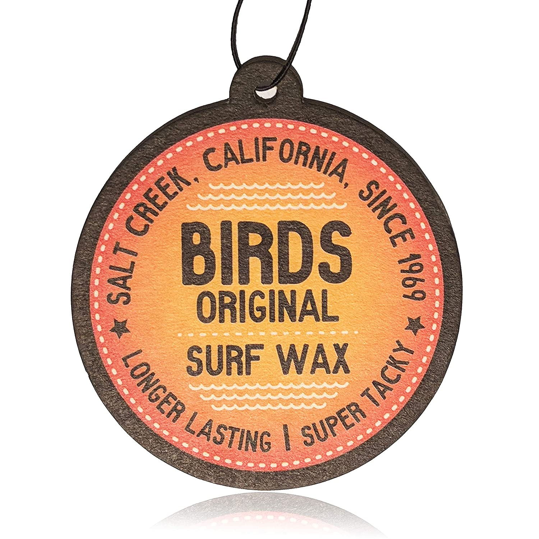 Bird's Original Coconut Island Fragranced Californian Surf Wax Car Air Freshener (1) Bird' s Original