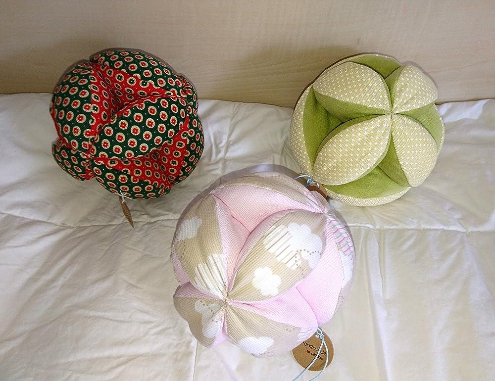 Pelota Montessori blanda, para bebés. Handmade: Amazon.es: Handmade