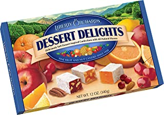 product image for Liberty Orchards Dessert Delights Fruit & Nut Candies, 12 Ounce
