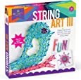 Craft-tastic - String Art Kit - Craft Kit Makes 3 Large String Art Canvases - Bird Edition