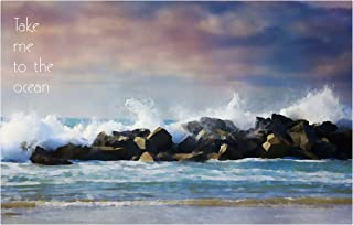 product image for Next Innovations Motivational Wall Art Take Me to The Ocean Wall Decor Panel