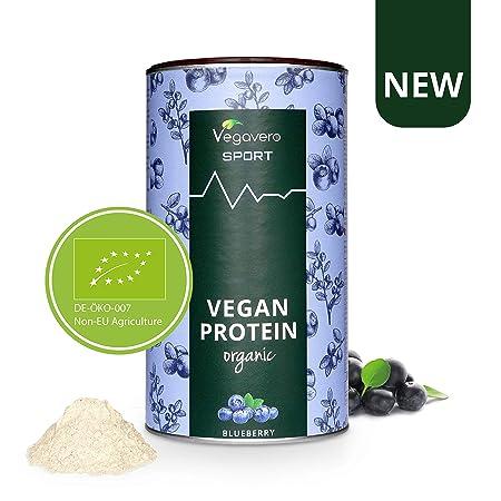 Proteína Vegana Aislada BIO Vegavero SPORT® | Guisante y Arroz | SIN GLUTEN – SIN SOJA | Suplemento Masa Muscular + Pre o Post Workout | 500g Sabor ...