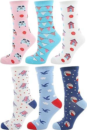 Zest 2 Pack Ladies Socks 4-7