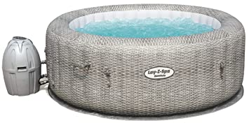 Bestway 54174 Lay-Z-SPA Honolulu AirJet 196 x 196 x 71 cm Z, Gris