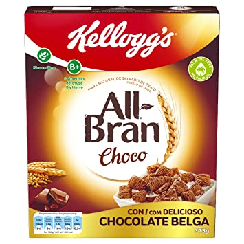 Kelloggs All Bran Chocolate - 375 g