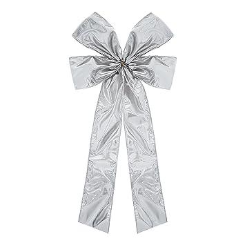 Schöne Silberne Geschenkschleife Schleife Macht Ihr