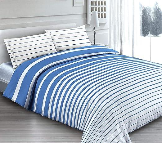 Completo sábanas sábana para cama de matrimonio 2 100% algodón ...
