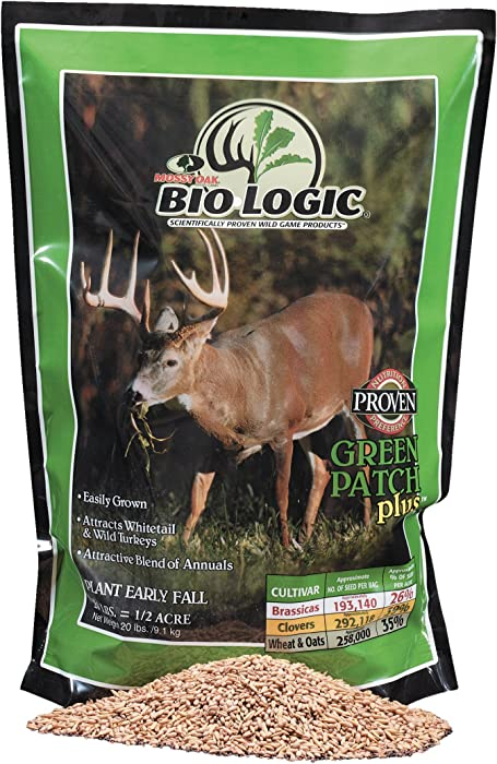 The Best Food Plot Green Patch Pluss