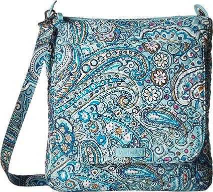 Amazon.com  Vera Bradley Women s Carson Mailbag Daisy Dot Paisley ... de1cd9e51