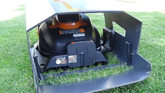 Idea Mower Garage Worx Landroid M Robot Cortacésped Garage: Amazon ...