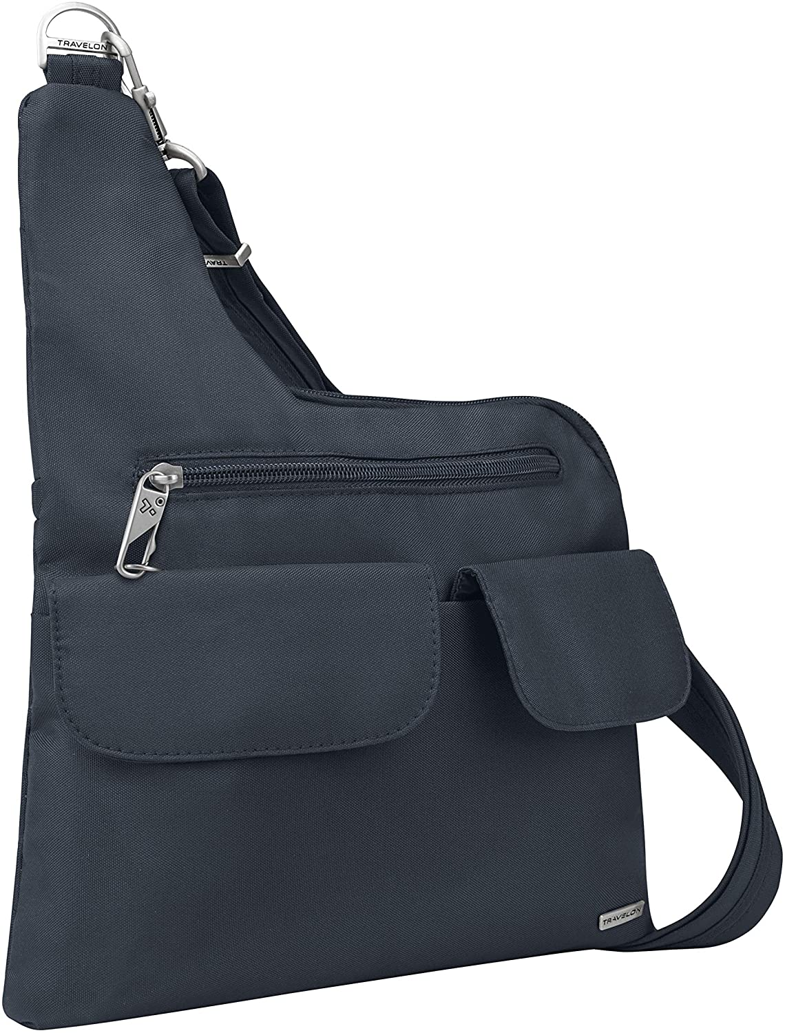 Travelon Anti-Theft Classic Messenger Bag Midnight