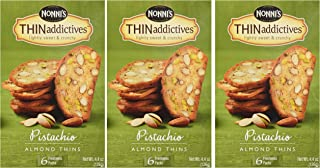 product image for Nonni's Thin Addictives Pistachio Almond Thins 4.5 oz (3 Pack)