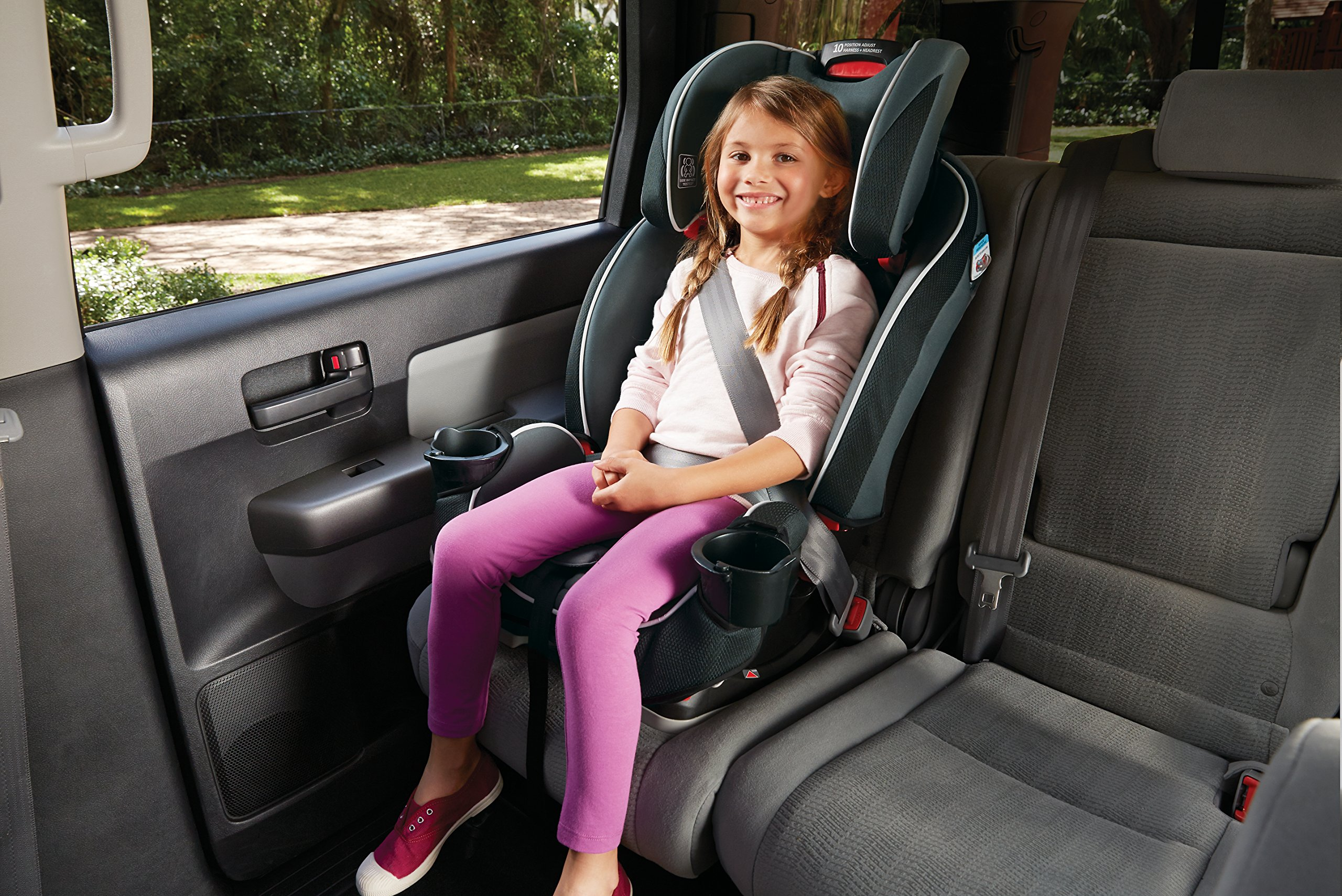 Graco SlimFit 3-in-1 Convertible Car Seat, Darcie by Graco (Image #8)