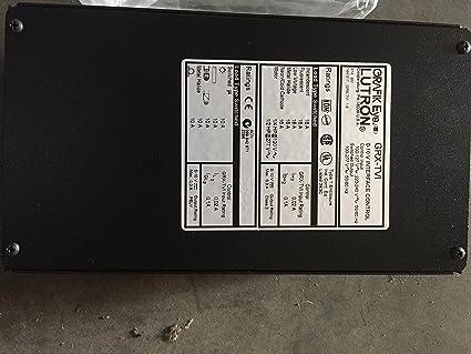 Amazon.com: Lutron Ten Volt Interface Control GRX-TVI Power Grafik ...