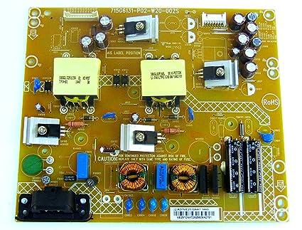 Amazon com: Vizio Smart TV Power Board 715G6131-P02-W20-002E