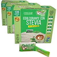STEVIA Ecologica Natural Edulcorante granulado Dulcilight stevia 300 SOBRES CON PRACTICO DISPENSADOR, Producto SABOR Y…