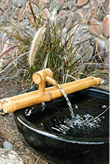 Amazoncom Bamboo Accents Water Fountain Spout Complete Kit - Indoor fountain kits