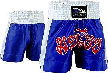 EVO Fitness Shorts De Muay Thai MMA Kick Boxing Arts Martiaux Combat Rouage