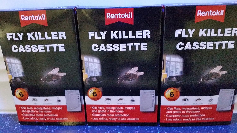 Rentokil Fly Killer Cassette Pack of 3 FF62A