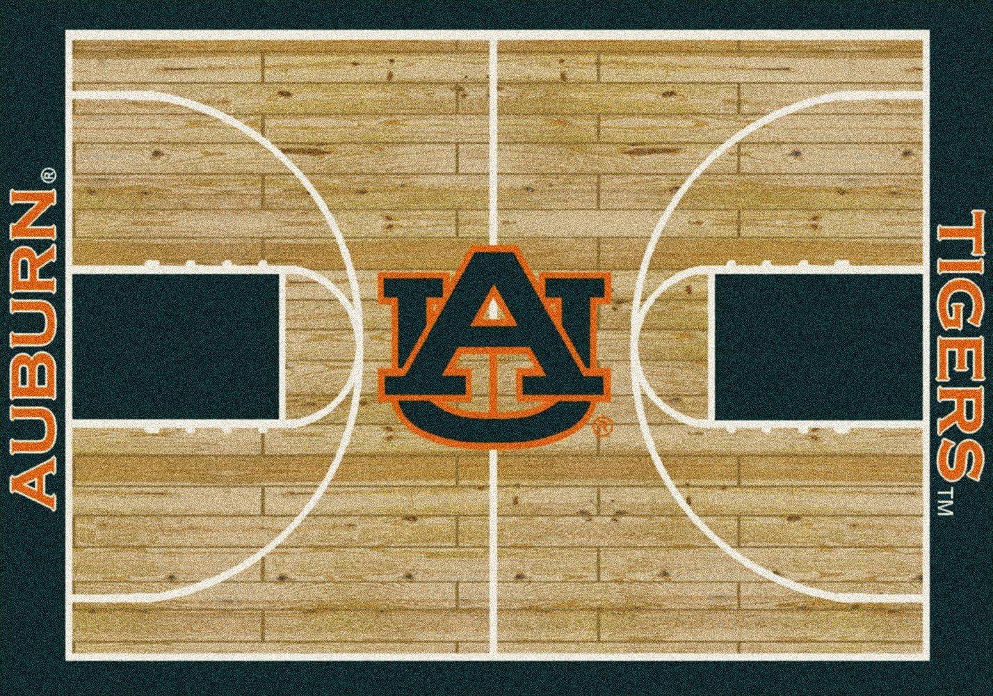 American Floor Mats Auburn Tigers NCAA College Home Court Team Area Rug 3 10 x5 4