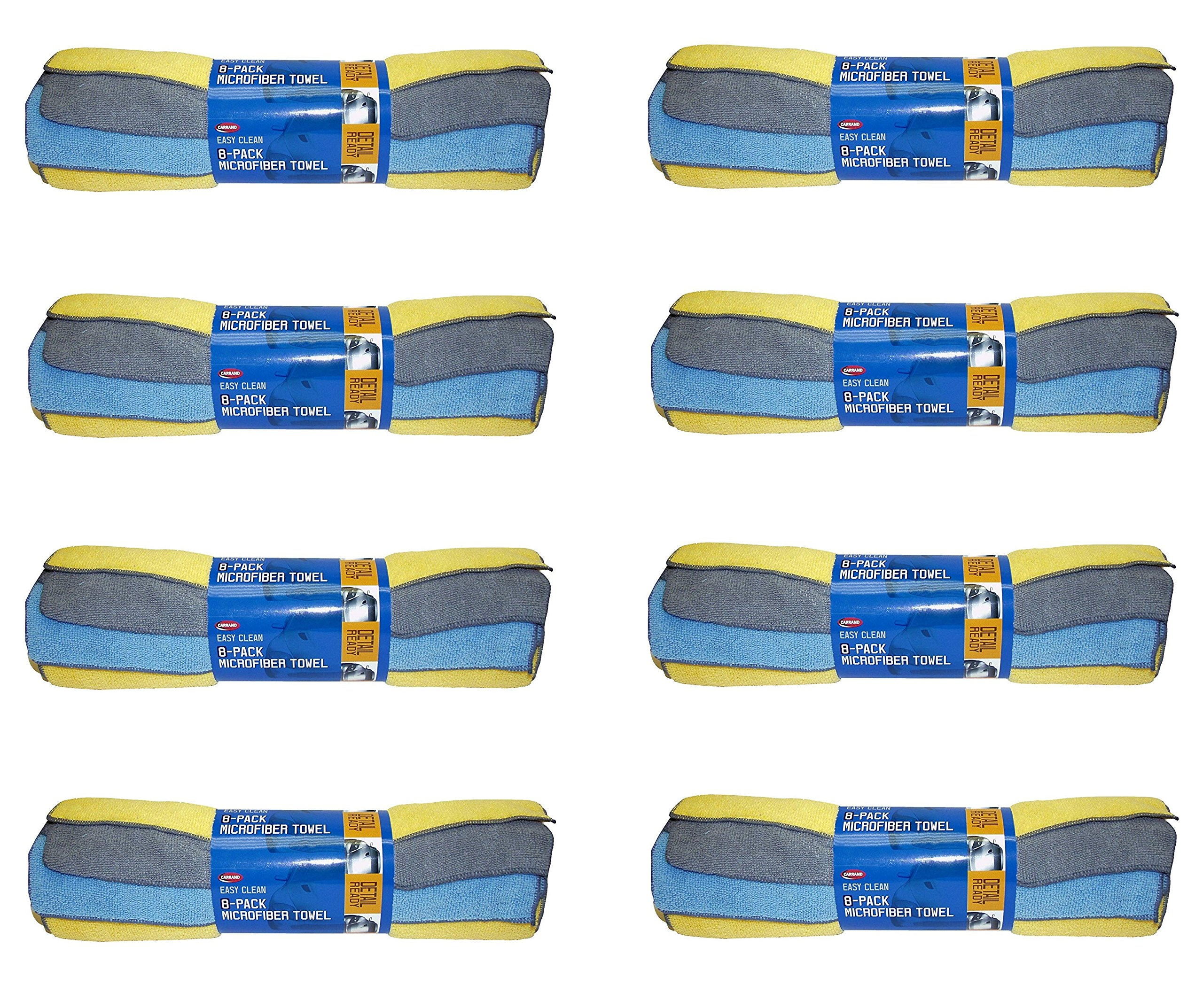 Carrand 40062 Microfiber Towel, 8 Pack (8)