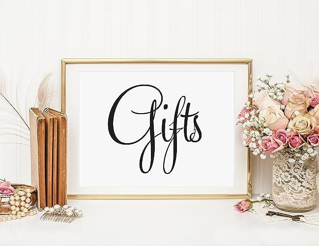 Amazon Wedding Gifts Table Sign Wedding Card Box Sign Card