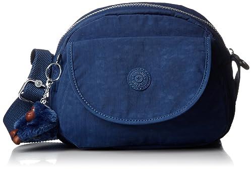 Kipling - Stelma, Bolsos bandolera Mujer, Blau (Jazzy Blue), 13x24x19 cm